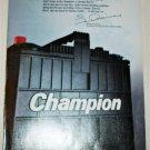 1985 Champion Battery ad