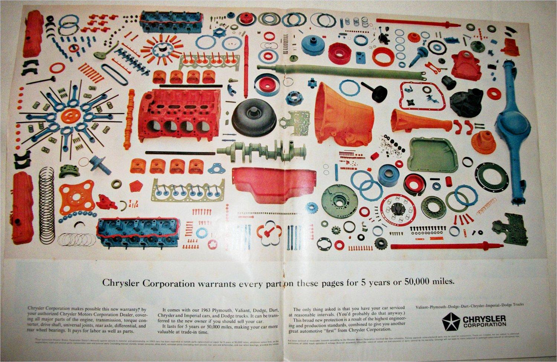 1962 Chrysler Auto Parts ad