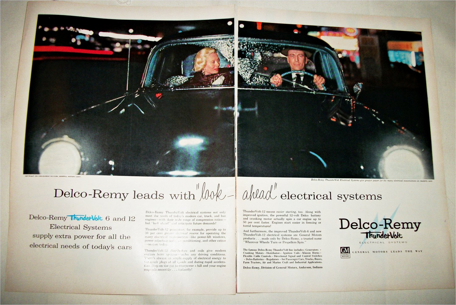 1955 Delco-Remy Thundervolt Electrical Systems ad #1