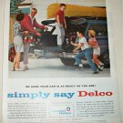 1962 Delco Car Care ad