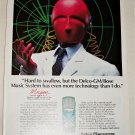 1984 Delco Bose Hard To Swallow ad