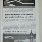 1959 Gabriel Shock Absorbers ad featuring Lee Petty