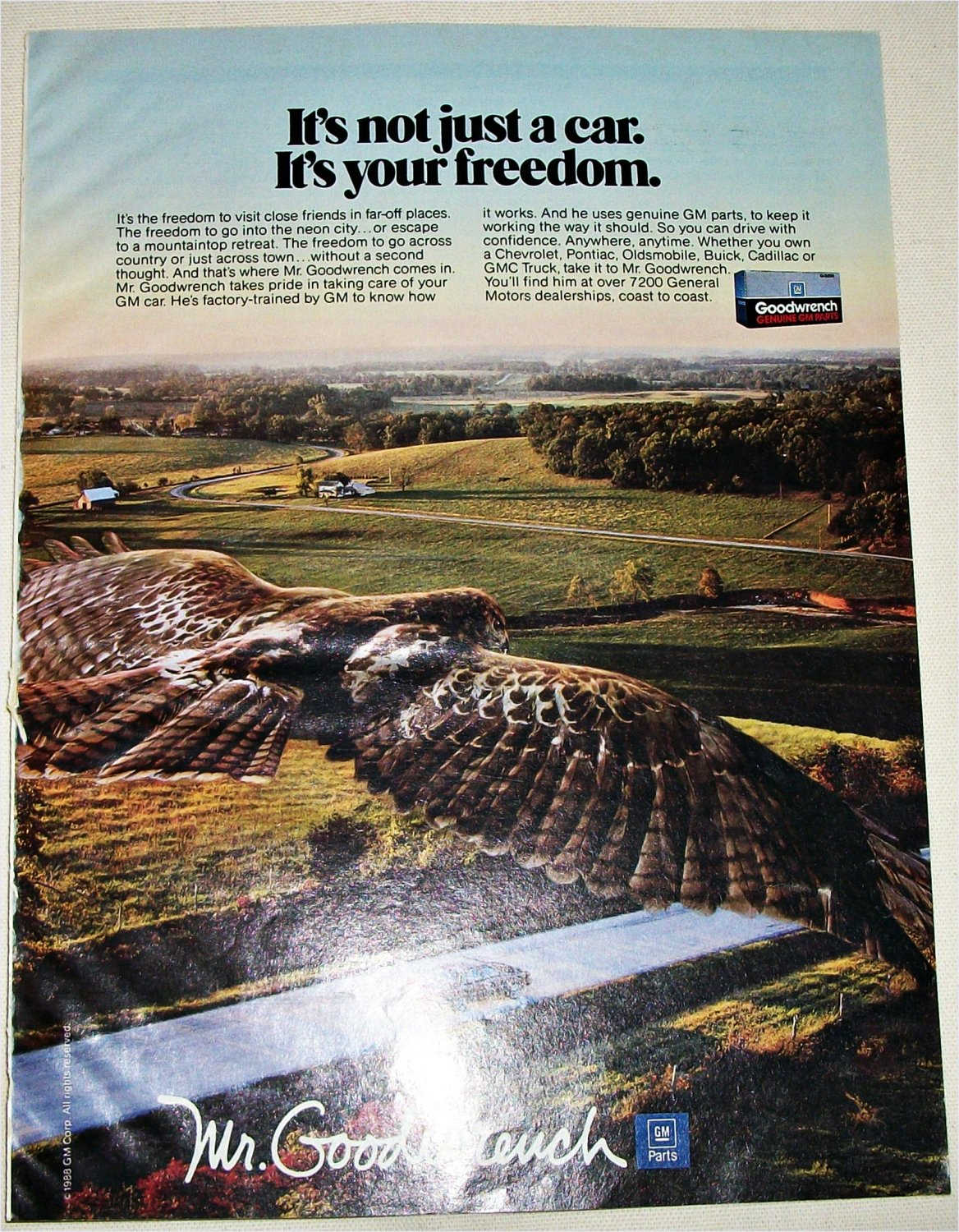 1989 GM Mr Goodwrench ad