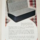 1951 Howard Zink Seat Covers ad