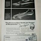1967 Jet Wax ad featuring Art Arfons