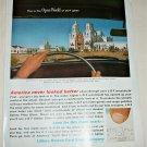 1963 Libbey-Owens-Ford Glass ad Featuring San Xavier del Bac Mission, Tucson Az