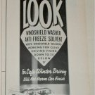 1966 Look Windshield Washer Solvent ad