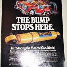 1982 Monroe Gas-Matic Shock Absorbers ad
