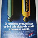 1978 Monroe Magnum Shock Absorbers ad