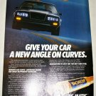 1985 Monroe Gas-Matic Shock Absorbers ad