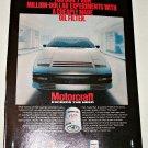 1983 Motorcraft FL1A Oil Filter ad #1