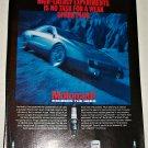 1983 Motorcraft Spark Plugs ad