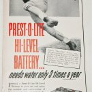 Prest-O-Lite Hi Level Battery ad featuring Choo Choo Justice