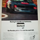 1971 Sears DieHard Battery ad featuring Roger Penske