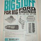 Shelby Auto Parts ad