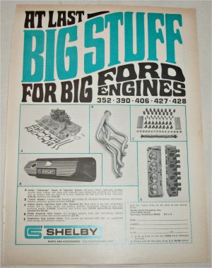 Shelby Auto Parts ad