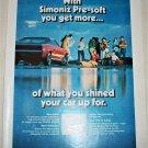 1974 Simoniz Car Wax ad #1