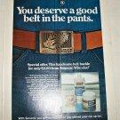 1975 Simoniz Wax Belt Buckle Offer ad