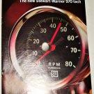 Stewart-Warner 970 Tach brochure