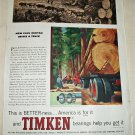 1959 Timken Bearings ad