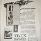 1922 Trex Air Valve Lock ad