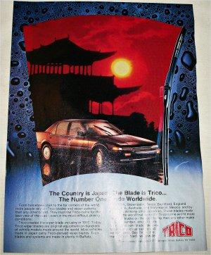 1987 Trico Wiper Blades ad