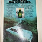 1978 Turtle Extra Car Wax ad