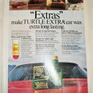 1979 Turtle Extra Car Wax ad