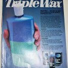 1985 Turtle Wax Triple Wax ad