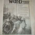 1918 Wood Wheels ad