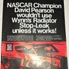 1969 Wynn's Radiator Stop-Leak ad