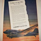 1943 Airlines of the United States ad