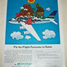 1968 Air New Zealand Airlines ad