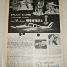 1965 Beechcraft Musketeer II Aircraft ad