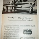 1967 Beechcraft Musketeer Aircraft ad