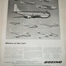 Boeing Blazers of the Trail ad