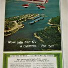 1967 Cessna Flying Lesson ad