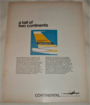Continental Airlines ad