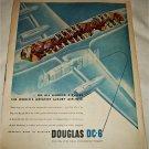 1946 Douglas DC-6 Aircraft ad