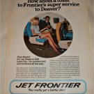 Jet Frontier Airlines ad