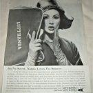 1960 Lufthansa Airlines ad