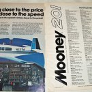 1976 Mooney 201 Aircraft ad