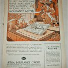 1955 Aetna Insurance Group Big Savings ad