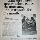 1968 Allstate Life Insurance ad