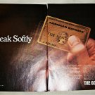 1982 American Express Gold Card ad #1
