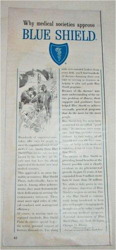 1963 Blue Shield ad