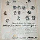 1970 Commerce Bancshares ad