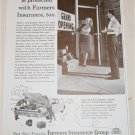 1961 Farmers Insurance His Car Is Protected ad