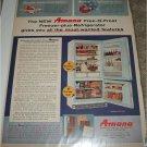 1961 Amana Free-O- Frost Model FF-125  Freezer Refrigerator ad