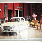 1957 AMC Nash Metropolitan ht car print (yellow & white